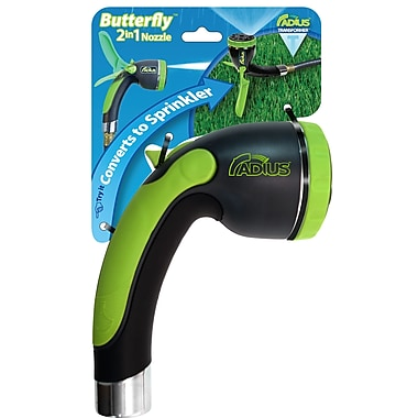 Radius Garden 2-in-1 Butterfly Hose Nozzle & 30