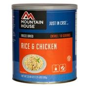 Mountain House – Conserve de riz et poulet n° 10
