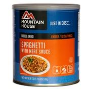 Mountain House – Conserve de spaghetti avec sauce à la viande n° 10
