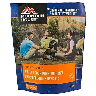 Mountain House – Conserve de porc aigre-doux avec pochette de riz n° 10