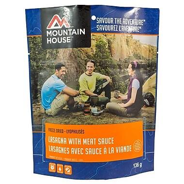 Mountain House – Pochette de lasagne avec sauce à la viande