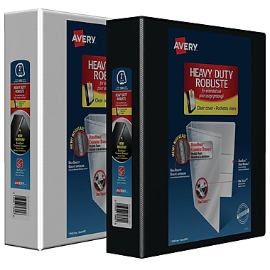 Avery® Heavy-Duty One-Touch D-Ring View Binders, 2