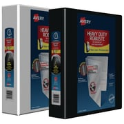 Avery® Heavy-Duty One-Touch D-Ring View Binders, 2""