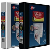 Avery® Heavy-Duty One-Touch D-Ring View Binders, 1½""