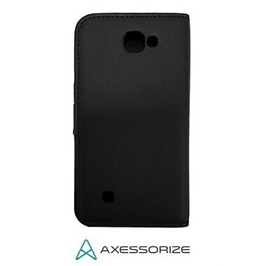 Axessorize – Étui Folio pour LG K4, noir