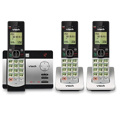 VTech CS5129-3 3 Handset Answering System with Caller ID