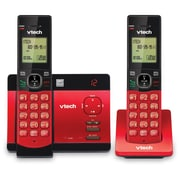 VTech CS5129 26 Red 2 handset answering system with caller ID by