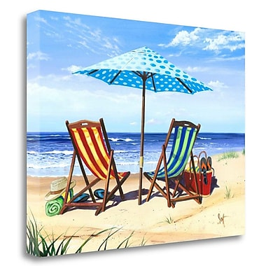 Tangletown Fine Art 'Made in the Shade' Graphic Art Print on Canvas; 25'' H x 33'' W
