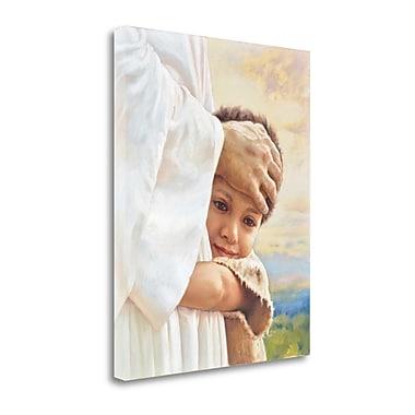 Tangletown Fine Art 'I Am a Child of God' Print on Canvas; 32'' H x 26'' W