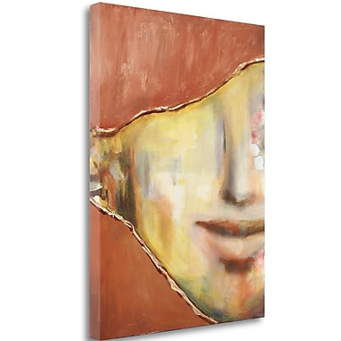 Tangletown Fine Art 'Just a Smile' Print on Canvas; 29'' H x 21'' W