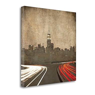 Tangletown Fine Art 'Manhattan Parkway' Photographic Print on Canvas; 35'' H x 35'' W