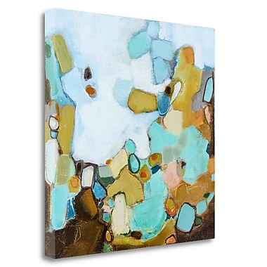 Tangletown Fine Art 'Along the Way' Print on Wrapped Canvas; 26'' H x 26'' W