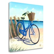 Tangletown Fine Art 'Blue By You' Print on Wrapped Canvas; 30'' H x 30'' W