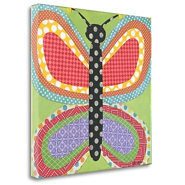Tangletown Fine Art 'Butterfly' Graphic Art Print on Canvas; 30'' H x 30'' W