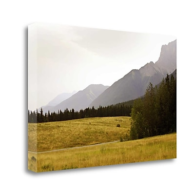 Tangletown Fine Art 'Banff Canada' Photographic Print on Wrapped Canvas; 32'' H x 48'' W