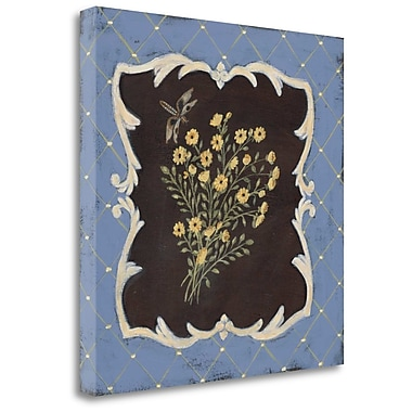 Tangletown Fine Art 'Timeless Tansy' Painting Print on Canvas; 21'' H x 21'' W