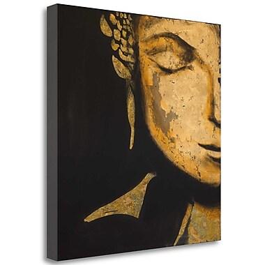 Tangletown Fine Art 'Zen Buddha' Print on Canvas; 30'' H x 30'' W