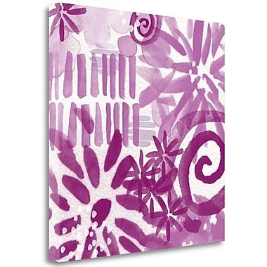 Tangletown Fine Art 'Floral Vi' Graphic Art Print on Canvas; 35'' H x 35'' W