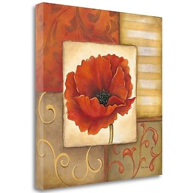 Tangletown Fine Art 'Orange Poppy I' Graphic Art Print on Canvas; 25'' H x 25'' W