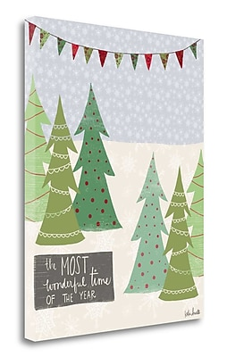 Tangletown Fine Art 'Most Wonderful Time of the Year' Graphic Art Print Print on Canvas