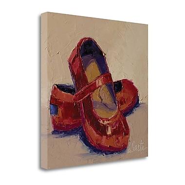 Tangletown Fine Art 'Little Miss' Print on Canvas; 20'' H x 20'' W