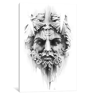 East Urban Home 'King on Diamonds' Graphic Art on Wrapped Canvas; 26'' H x 18'' W x 1.5'' D