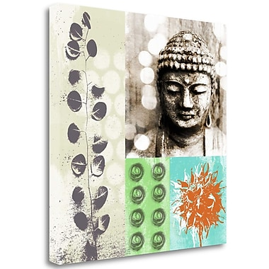 Tangletown Fine Art 'Buddha I' Graphic Art Print on Wrapped Canvas; 20'' H x 20'' W