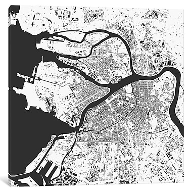 East Urban Home 'St. Petersburg' Graphic Art on Wrapped Canvas; 12'' H x 12'' W x 1.5'' D