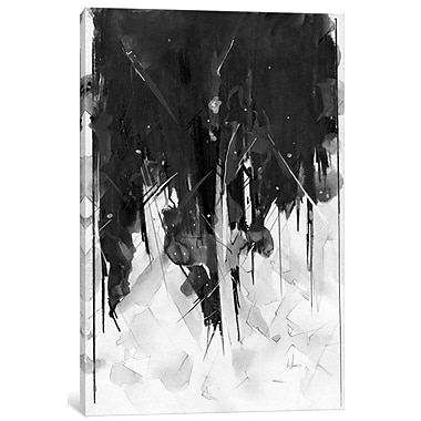 East Urban Home 'Stacy' Painting Print on Wrapped Canvas; 12'' H x 8'' W x 0.75'' D