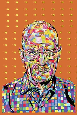 East Urban Home 'Walter' Graphic Art on Wrapped Canvas; 60'' H x 40'' W x 1.5'' D