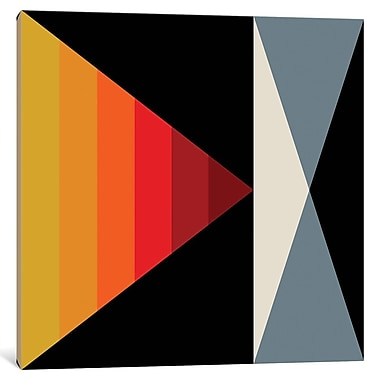 East Urban Home 'Angles I' Graphic Art on Wrapped Canvas; 26'' H x 26'' W x 1.5'' D