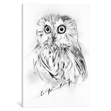 East Urban Home 'Wise' Graphic Art on Wrapped Canvas; 18'' H x 12'' W x 1.5'' D