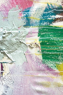 East Urban Home 'Texture VII' Painting Print on Wrapped Canvas; 12'' H x 8'' W x 0.75'' D