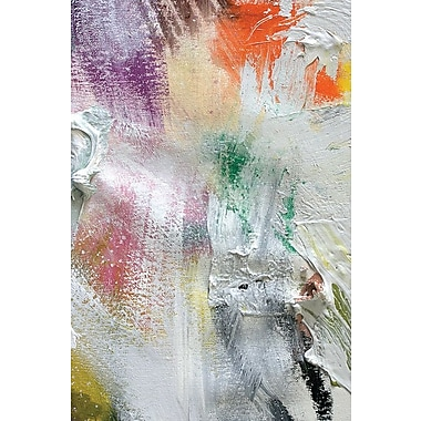East Urban Home 'Texture VI' Painting Print on Wrapped Canvas; 26'' H x 18'' W x 0.75'' D