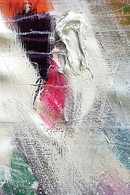 East Urban Home 'Texture V' Painting Print on Wrapped Canvas; 26'' H x 18'' W x 1.5'' D