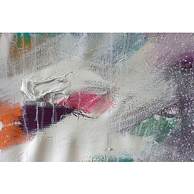 East Urban Home 'Color VI' Painting Print on Wrapped Canvas; 12'' H x 18'' W x 1.5'' D
