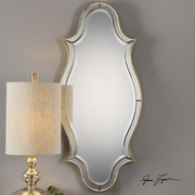 Rosdorf Park Curved Sided Framed Accent Mirror
