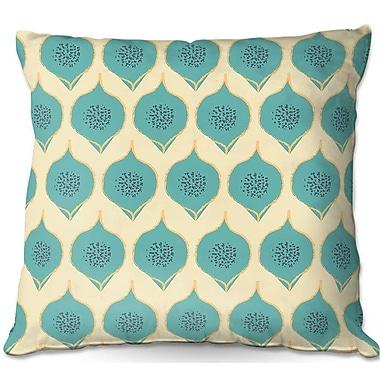 East Urban Home Petals Throw Pillow; 16'' H x 16'' W x 4'' D