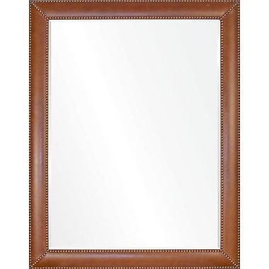 Mirror Image Home Barclay Butera Vintage Nailhead Full Length Mirror; 66.5'' H x 46.5'' W x 1'' D