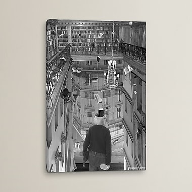 East Urban Home 'The Mind Reader' Photographic Print on Wrapped Canvas; 60'' H x 40'' W x 1.5'' D