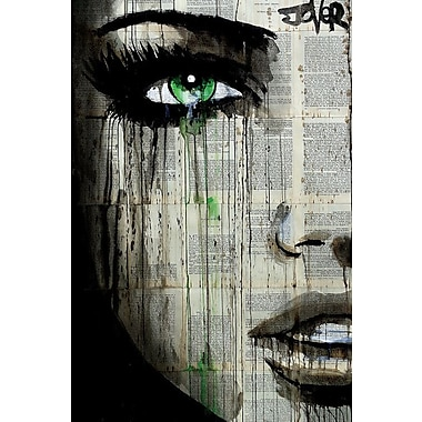 East Urban Home 'Chapter' Graphic Art on Wrapped Canvas; 26'' H x 18'' W x 1.5'' D