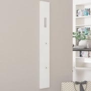 Rebrilliant Wall Mounted Coat Rack; Glossy White