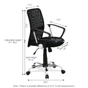 Symple Stuff 47'' High-Back Mesh Desk Chair