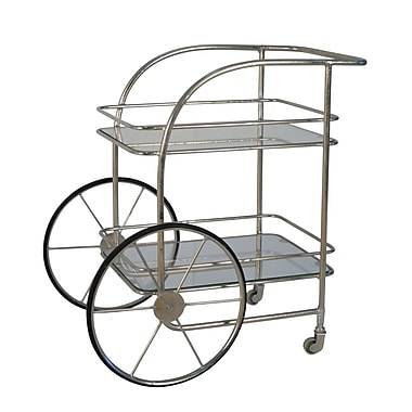 17 Stories Petya Chariot Bar Cart