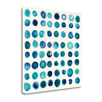 Tangletown Fine Art 'Spot of Rain' Print on Canvas; 20'' H x 20'' W