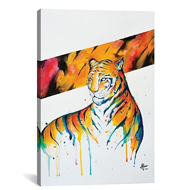 East Urban Home 'Burning Bright' Graphic Art on Canvas; 12'' H x 8'' W x 0.75'' D
