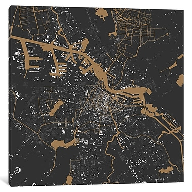 East Urban Home 'Amsterdam' Square Graphic Art on Wrapped Canvas; 26'' H x 26'' W x 0.75'' D