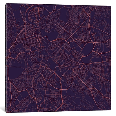 East Urban Home 'Rome Roadway' Graphic Art on Wrapped Canvas; 37'' H x 37'' W x 0.75'' D