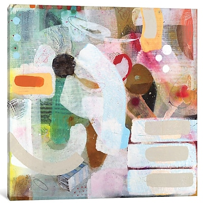 East Urban Home 'Changed My Mind III' Painting Print on Wrapped Canvas; 37'' H x 37'' W x 1.5'' D