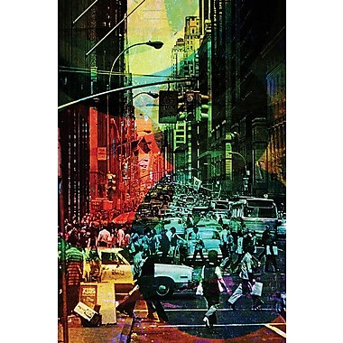 East Urban Home 'Chaos' Photographic Print on Wrapped Canvas; 26'' H x 18'' W x 0.75'' D